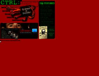 ctrl.org screenshot