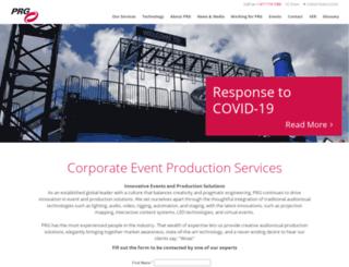 cts.prg.com screenshot