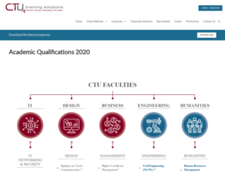 ctucareer.co.za screenshot