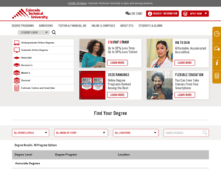 ctuonline.com screenshot