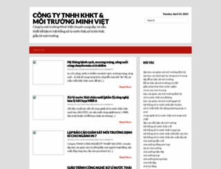 ctymoitruongminhviet.blogspot.com screenshot