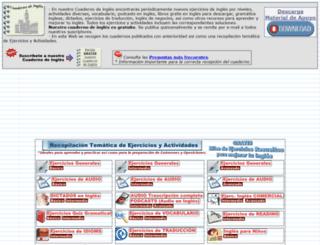 cuadernodeingles.com screenshot