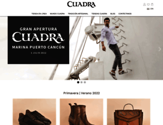 cuadra.com.mx screenshot