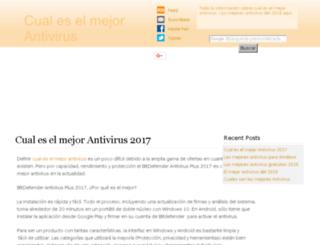 cualeselmejorantivirus.net screenshot