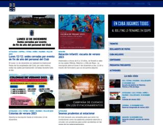 cuba.org.ar screenshot