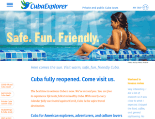 cubaexplorer.com screenshot