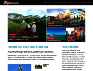 cubatreasure.com screenshot