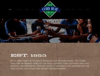 cubbybear.com screenshot