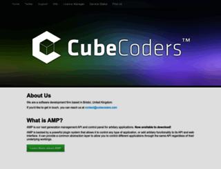 cubecoders.com screenshot