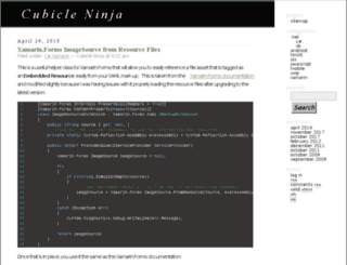 cubicleninja.com screenshot