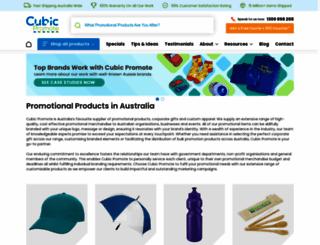 cubicpromote.com.au screenshot
