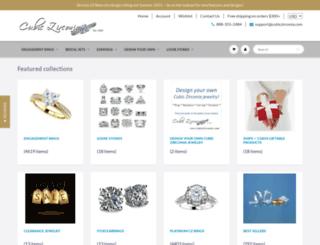 cubiczirconia.com screenshot