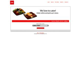 cuborders.mywebgrocer.com screenshot