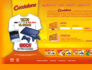 cucciolonegiocalatuapartita.it screenshot