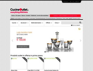 cucineoutlet.it screenshot