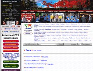 cucu.web.id screenshot