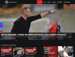 cucutadeportivo.com.co screenshot