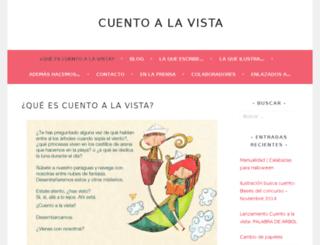 cuentoalavista.com screenshot
