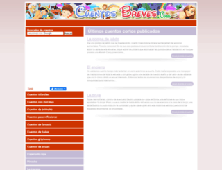 cuentosbreves.org screenshot