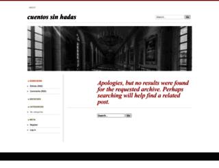cuentossinadas.wordpress.com screenshot