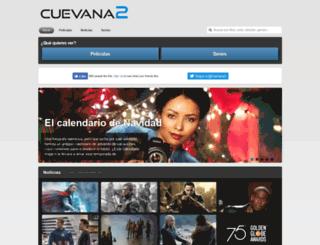 cuevana2.com screenshot