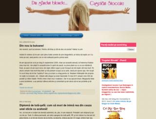 cugetaristocate.blogspot.com screenshot