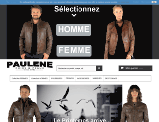 cuir-paulene.com screenshot