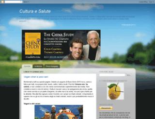 culturasalute.blogspot.com screenshot