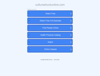 cultureshockonline.com screenshot