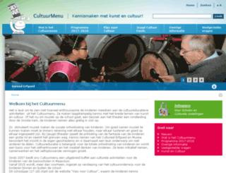 cultuurmenumaassluis.nl screenshot