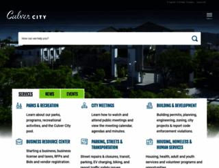culvercity.org screenshot
