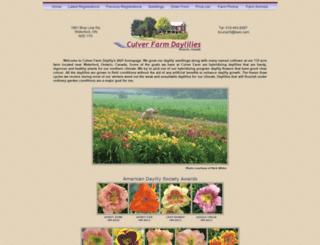 culverfarmdaylilies.com screenshot