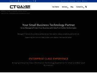 culvertechnologies.com screenshot