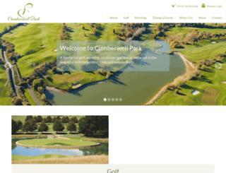 cumberwellpark.com screenshot