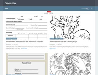 cumixoso.blogspot.com screenshot