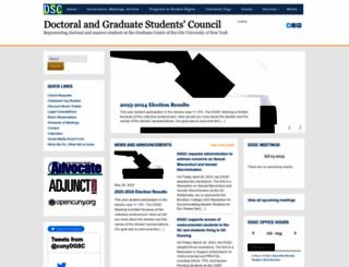 cunydsc.org screenshot
