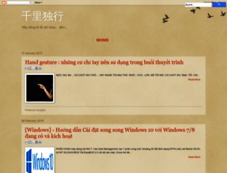 cuongdc.co screenshot
