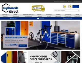 cupboardsdirect.co.uk screenshot