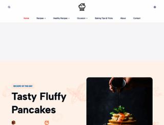 cupcakerecipes.com screenshot