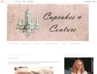 cupcakesncouture.com screenshot
