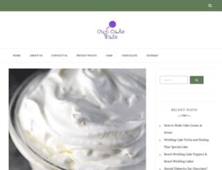 cupcaketate.com screenshot