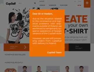 cupsell.com screenshot