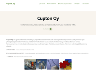cupton.fi screenshot
