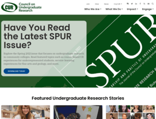 cur.org screenshot