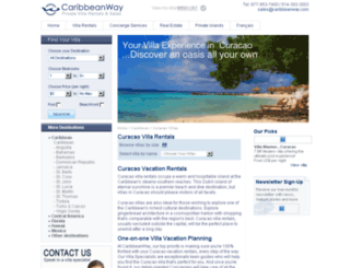 curacao.caribbeanway.com screenshot