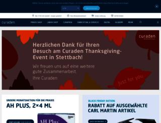 curaden.ch screenshot