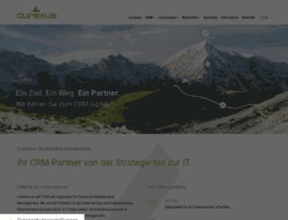 curexus.com screenshot
