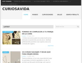 curiosavida.com screenshot