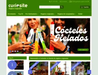 curiosite.com screenshot