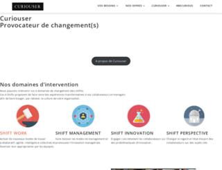 curiouser.fr screenshot